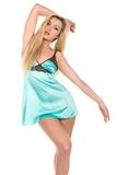 Teal chemise Royalty Free Stock Photography
