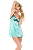 Teal chemise Stock Image