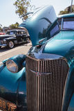 Teal 1937 Chevrolet Master Deluxe Royalty Free Stock Images