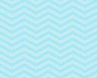 Teal Chevron Zigzag Textured Fabric Pattern Background Stock Image
