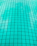 Teal color grid Stock Photos
