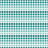 Teal e sedere bianche di ripetizione di Dot Abstract Design Tile Pattern di Polka royalty illustrazione gratis