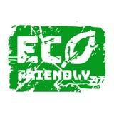 Teal eco вектора штемпель ретро винтажный для знака качества Стоковая Фотография
