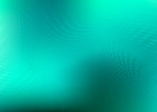 Teal Flowing Dots Background Pattern Stock Images