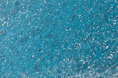 Teal glitter festive winter Christmas background royalty free stock photo