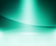 Teal Glow Abstract Background Royalty Free Stock Photo