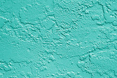 Teal Green Wall Texture Background photographie stock libre de droits