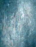 Teal and Grey Abstract Art Painting stock image