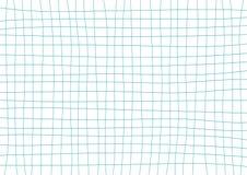 Teal Grid White Background blu Immagine Stock Libera da Diritti
