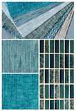 Teal interior design royalty free stock photography