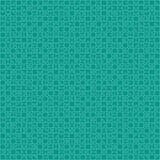 900 Teal Material Design Pieces - Figuurzaag stock illustratie