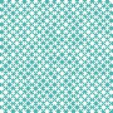 Teal Material Design Pieces - serra de vaivém - xadrez do campo Ilustração Royalty Free