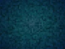 Teal Ring Mosaic Background Loop stock video footage