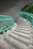 Teal Stairway Royalty Free Stock Photos