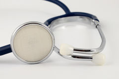 A teal stethoscope Stock Photo