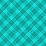 Teal Striped Gingham Tile Pattern Repeat Background Royalty Free Stock Photo