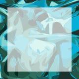 Teal Texture Frame Stock Photos
