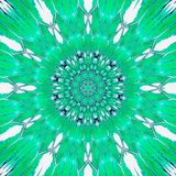 Pretty teal turquoise floral mandala gzhel effect, kaleidoscope fresh colors. Teal turquoise floral mandala gzhel effect, kaleidoscope fresh colors Royalty Free Stock Photo