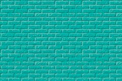 Free Teal Wall Background. Blue Green Brick Texture. Light Green Color Background Stone Wall. Urban Cyan Texture. Vector Stock Images - 194868104
