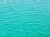 Teal water surface Royalty Free Stock Photography