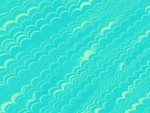 Teal Wave Background vector illustratie