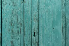 Teal Wood Royalty Free Stock Images