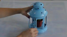 tealight的灯笼 影视素材