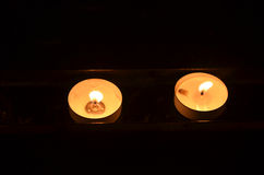 Tealight Candles Royalty Free Stock Images