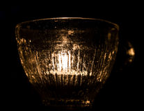 Tealight in Glass Stock Images