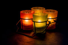 Tealights Stock Images