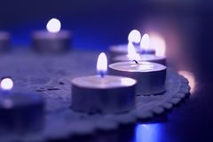 Tealights Photographie stock