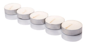 Tealights Candles II Stock Image