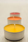 Tealights Royalty Free Stock Photo