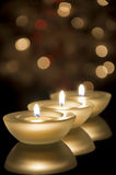 Tealights Royalty Free Stock Photography