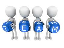 Team stock illustratie