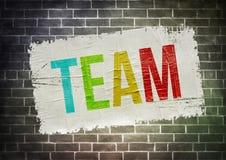 team Lizenzfreies Stockbild