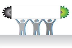 Team vektor abbildung