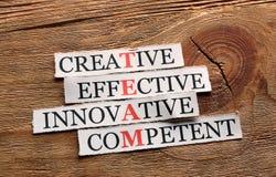 Team  acronym creative Stock Images