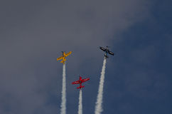 Team aerobatics Stock Photos