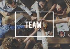 Team Alliance Association Company合作概念 库存照片