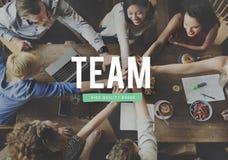 Team Alliance Association Company合作概念 图库摄影
