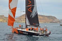 Team Alvimedica Volvo Ocean Race Arkivfoto