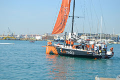 Team Alvimedica Volvo ocean Race 2014 - 2015 Royalty Free Stock Images