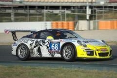 Team Apo Sport Porsche 991 tazas 24 horas de Barcelona Imágenes de archivo libres de regalías