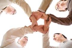 Team-Arbeit Stockbild