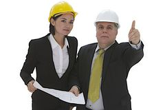 Team of architect engineer Stock Images