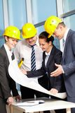 Team of architects Royalty Free Stock Photo