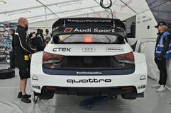 Team Audi Sport Fotografia de Stock Royalty Free