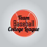 Team baseball Royalty Free Stock Photo