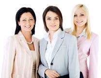 Team beautiful businesswomen Stock Photo